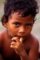 Panamá. Ciudad de Panamá.<br /> Retrato de un niño callejero.<br /> <br /> ©JOAN COSTA