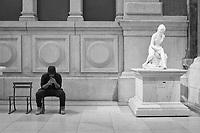 """Bather"" by French sculptor Jean-Antoine Houdon (1741-1828), Metropolitan Museum of Art"