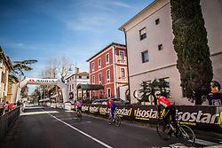 Riders during the UCI Class 1.2 professional race 4th Grand Prix Izola, on February 26, 2017 in Izola / Isola, Slovenia. Photo by Vid Ponikvar / Sportida