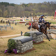 Boyd Martin (USA) and On Cue during The Fork Horse Trials held at the Tryon International Equestrian Center in Mill Spring, North Carolina.