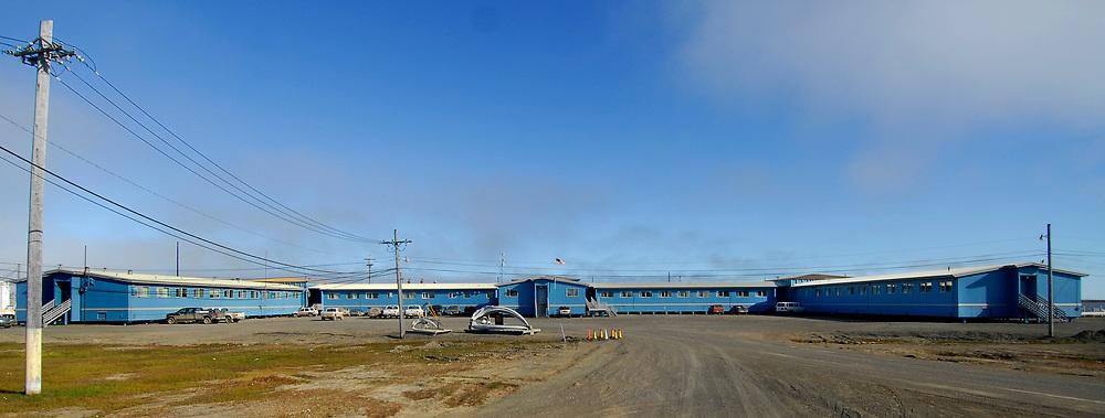 Alaska, Barrow. Ilisagvik College, the Iñupiaq College.. July 2007