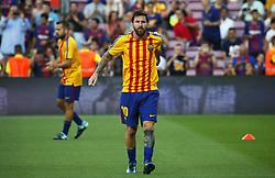 August 20, 2017 - Barcelona, Catalonia, Spain - Leo Messi alone, without Neymar Jr. and Luis Suarez before La Liga match between F.C. Barcelona v Alaves, in Barcelona, on September 10, 2016. Photo: Edi Capmany/Urbanandsport/Nurphoto  (Credit Image: © Joan Valls/NurPhoto via ZUMA Press)