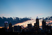 View of the Charlotte Skyline