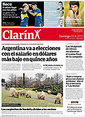 August 22, 2021 - LATIN AMERICA: Front-page: Today's Newspapers In Latin America