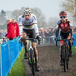 2019-12-27 Cycling: dvv verzekeringen trofee: Loenhout: The moment Eli Iserbyt lost the race