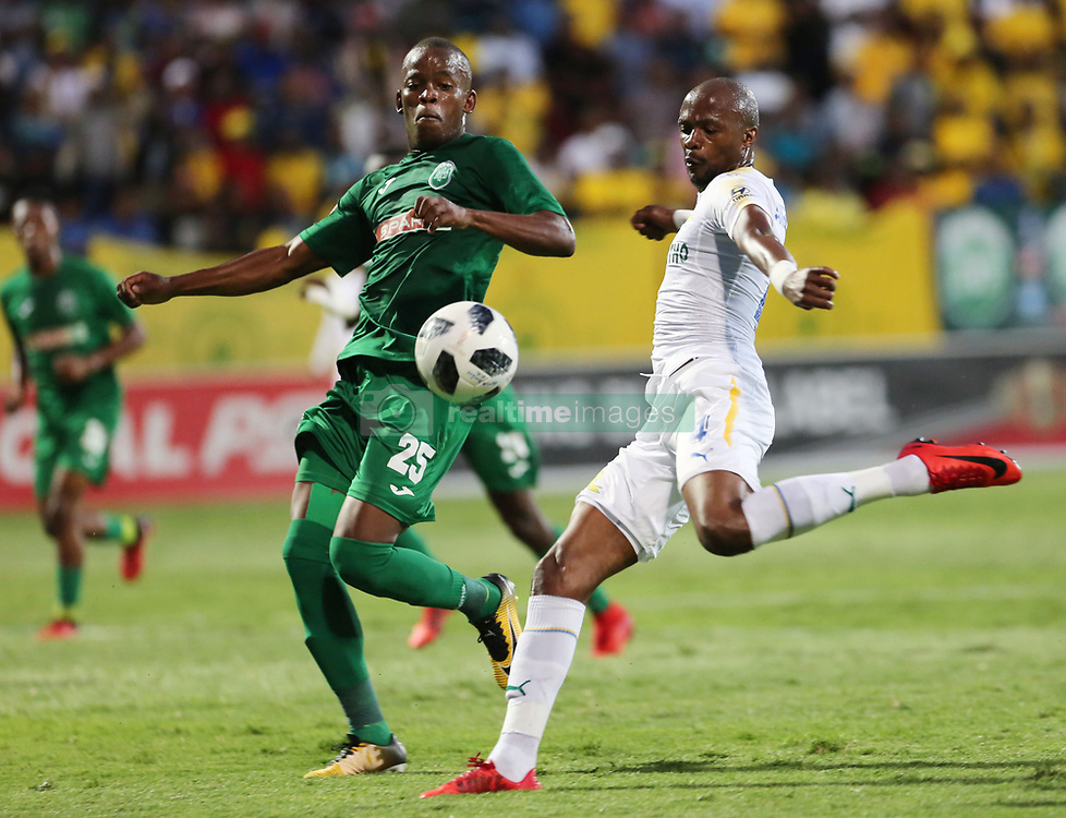 02.03.2018 (Durban) Sundowns FC plays againgst Amazulu FC at King Zwelithi stadium at the ABSA premier league game on Friday night.<br /> Picture: Motshwari Mofokeng/African News Agency/ANA