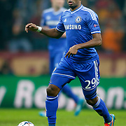Chelsea's Samuel Eto'o during their UEFA Champions League Round of 16 First leg soccer match Galatasaray between Chelsea at the AliSamiYen Spor Kompleksi in Istanbul, Turkey on Wednesday 26 February 2014. Photo by Aykut AKICI/TURKPIX