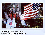 A vigil in the memory of Miriam Cruz Hurtado, 31-year-old, and her son Corbin Dallas Barraza, 4-year-old, in the 1700 block of North Mannheim Road in Stone Park, Illinois, in this photo taken September 24, 2017. Hurtado and Barraza were both strangled and stabbed to death at their home on September 21, 2017.  Daniel Barraza, 32-year-old, has been charged with two counts of first-degree murder.