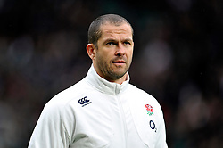 England Defence Coach Andy Farrell - Photo mandatory by-line: Patrick Khachfe/JMP - Mobile: 07966 386802 14/02/2015 - SPORT - RUGBY UNION - London - Twickenham Stadium - England v Italy - Six Nations Championship