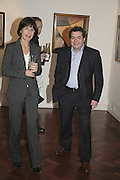 Marna Russell and Michael  Rogatchi, The Real Dream, private view for an exhibition of work by Michael Rogatchi. Cork St. London.  5 December 2006. ONE TIME USE ONLY - DO NOT ARCHIVE  © Copyright Photograph by Dafydd Jones 248 CLAPHAM PARK RD. LONDON SW90PZ.  Tel 020 7733 0108 www.dafjones.com