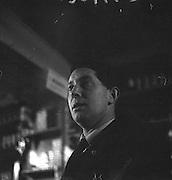 Limerick Widows Alms House. Proprietor of the pub, Mike Gowe..28.03.1962
