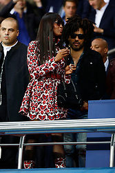 Naomi Campbell and Lenny Kravitz attend the Uefa soccer match between PSG and Bayern in Paris. 27 Sep 2017 Pictured: Naomi Campbell and Lenny Kravitz. Photo credit: MT / MEGA TheMegaAgency.com +1 888 505 6342