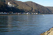 Oberes Mittelrheintal / Upper Middle Rhine Valley <br /> <br /> The Rhine Gorge is a popular name for the Upper Middle Rhine Valley, a 65 km section of the River Rhine between Koblenz and Bingen in Germany. It was added to the UNESCO list of World Heritage Sites in June 2002 for a unique combination of geological, historical, cultural and industrial reasons.<br /> <br /> The region's rocks were laid down in the Devonian period and are known as Rhenish Facies. This is a fossil-bearing sedimentary rock type consisting mainly of slate. The rocks underwent considerable folding during the Carboniferous period. The gorge was carved out during a much more recent uplift to leave the river contained within steep walls 200 m high, the most famous feature being the Loreley.<br /> <br /> On the photo:  The Rhine at Niederlahnstein (opposite Stolzenfels of Koblenz with Schloss Stolzenfels)