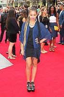 Melissa Steel, The Inbetweeners 2 - World Film Premiere, Leicester Square, London UK, 05 August 2014, Photo by Richard Goldschmidt