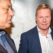 NLD/Scheveningen/20171107 - Boekpresentati en journalist Jaap de Groot , Ronald Koeman