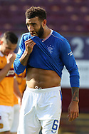 PORTRAIT Connor Goldson (Rangers) during the Scottish Premiership match between Motherwell and Rangers at Fir Park, Motherwell, Scotland on 27 September 2020.