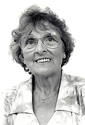 Portrait of an elderly woman, Nottingham, UK 1995