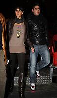 20091210: LISBON, PORTUGAL - SL Benfica Christmas Party at Victor Hugo Cardinali Circus. In picture: Javi Garcia and wife Elena Gomez. PHOTO: Alvaro Isidoro/CITYFILES