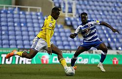 Birmingham City's Viv Solomon-Otabor battle for the ball
