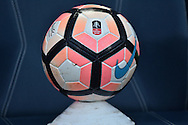 The match ball  before the The FA Cup 3rd round match between Bolton Wanderers and Crystal Palace at the Macron Stadium, Bolton, England on 7 January 2017. Photo by Mark Pollitt.