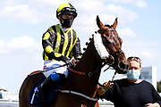 Air of York ridden by Megan Nicholls trained by Grace Harris - Mandatory by-line: Robbie Stephenson/JMP - 22/07/2020 - HORSE RACING - Bath Racecoure - Bath, England - Bath Races