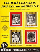 All Ireland Senior Hurling Championship Final,.07.09.1969, 09.07.1969, 7th September 1969,.Minor Kilkenny v Cork, Kilkenny 2-15 Cork 2-09,.Senior Cork v Kilkenny,