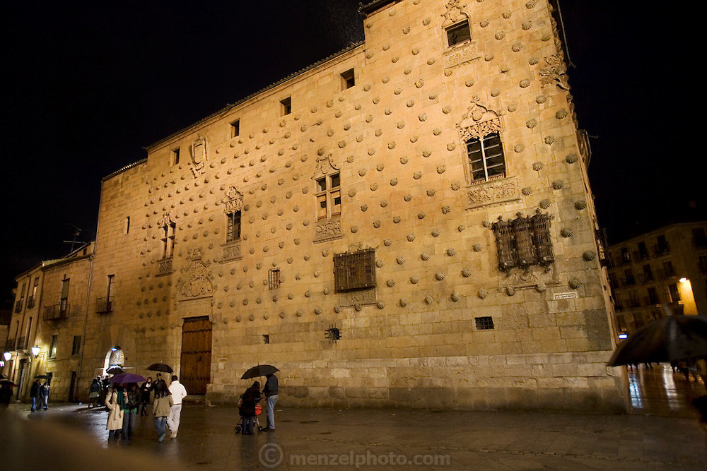 La Casa de las Conchas, Salamanca, Spain.