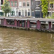 NLD/Amsterdam/20170823 - Woonboten Amsterdam,