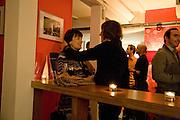 DIANE PILKINGTON; JEAN-CLAUDE PELLETIER, The Actors Centre's 30th Birthday Party. 1a Tower St, Covent Garden. London. 2nd November<br /> *** Local Caption *** -DO NOT ARCHIVE -Copyright Photograph by Dafydd Jones. 248 Clapham Rd. London SW9 0PZ. Tel 0207 820 0771. www.dafjones.com