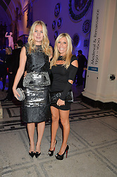 Left to right, MARISSA MONTGOMERY and RACHEL ZALIS at a private view of Alexander McQueen's Savage Beauty exhibition hosted by Samsung BlueHouse at the V&A, London on 30th March 2015.
