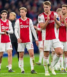 10-04-2019 NED: Champions League AFC Ajax - Juventus,  Amsterdam<br /> Round of 8, 1st leg / Ajax plays the first match 1-1 against Juventus during the UEFA Champions League first leg quarter-final football match / Matthijs de Ligt #4 of Ajax