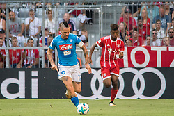 August 2, 2017 - Munich, Germany - Marek Hamsík of SSC Napoli during the Audi Cup 2017 match between SSC Napoli v FC Bayern Muenchen at Allianz Arena on August 2, 2017 in Munich, Germany. (Credit Image: © Paolo Manzo/NurPhoto via ZUMA Press)