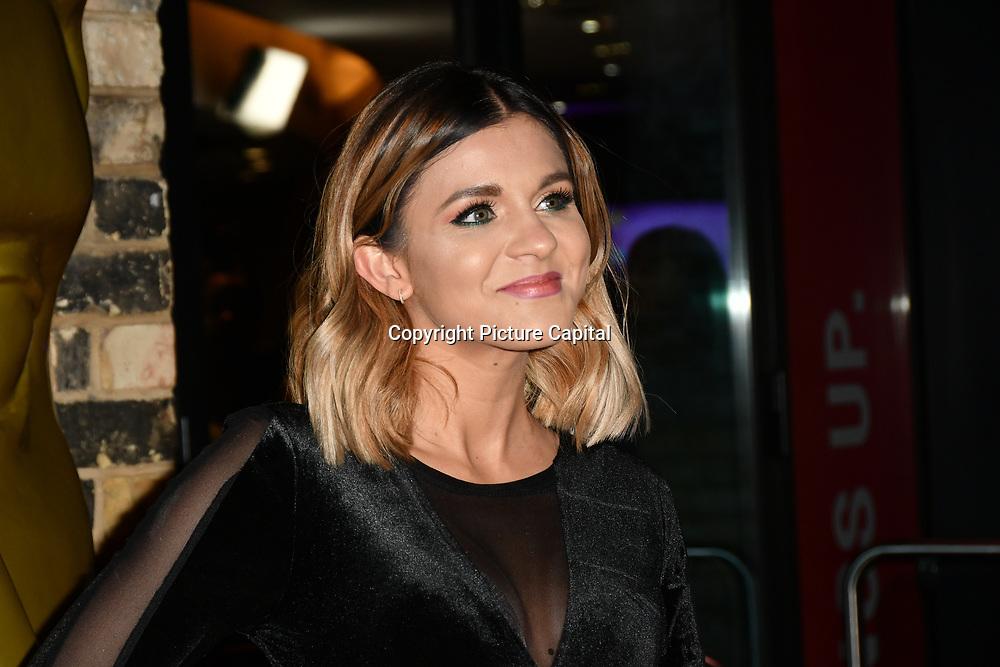 Lauren Layfield arrivers at the BAFTA Children's Awards 2018 at Roundhouse on 25 November 2018, London, UK.