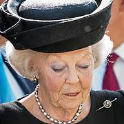 NLD/Ede/20190921- Prince Charles en Prinses Beatrix bij herdenking Airborne, Prinses Beatrix