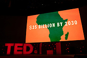 The End Fund's Audacious Project video at TED2019: Bigger Than Us. April 15 - 19, 2019, Vancouver, BC, Canada. Photo: Bret Hartman / TED