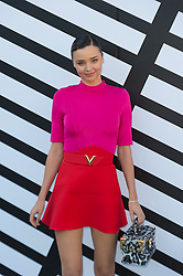 Miranda Kerr attending the Louis Vuitton's Spring-Summer 2016/2017 Ready-To-Wear collection show in Paris, France, on October 5, 2016. Photo by Nicolas Genin/ABACAPRESS.COM