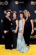 Gouden Loper van het 49ste Gouden Televizier-Ring Gala 2014 in Carre , Amsterdam<br /> <br /> Op de foto: <br /> <br /> <br /> <br />  Selma van Dijk, Mirellla van Markus, Evelien de Bruijn, Gallyon van Vessem