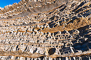 Sedimentary rock, Montana de Oro State Park, California USA