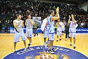 DESCRIZIONE : Eurocup 2013/14 Gr. J Dinamo Banco di Sardegna Sassari -  Brose Basket Bamberg<br /> GIOCATORE : Team<br /> CATEGORIA : Ritratto Esultanza<br /> SQUADRA : Dinamo Banco di Sardegna Sassari <br /> EVENTO : Eurocup 2013/2014<br /> GARA : Dinamo Banco di Sardegna Sassari -  Brose Basket Bamberg<br /> DATA : 19/02/2014<br /> SPORT : Pallacanestro <br /> AUTORE : Agenzia Ciamillo-Castoria / Luigi Canu<br /> Galleria : Eurocup 2013/2014<br /> Fotonotizia : Eurocup 2013/14 Gr. J Dinamo Banco di Sardegna Sassari - Brose Basket Bamberg<br /> Predefinita :