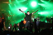Ethnix, an Israeli pop-rock band. Ze'ev Nehama, the vocalist live on stage