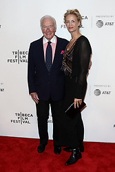 Actors Christopher Plummer (L) and Janet McTeer attend 'The Exception' screening during the 2017 TriBeCa Film Festival at at BMCC Tribeca PAC on April 26, 2017 in New York City. (Photo by Debby Wong/imageSPACE) *** Please Use Credit from Credit Field ***