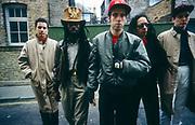 Big Audio Dynamite 1986 London photosession