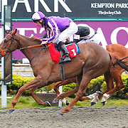Pivatol Silence and Adam kirby winning the 7.00 race