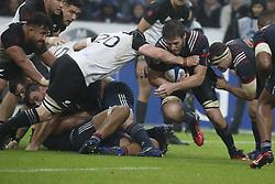 France's Paul Gabrillargues during a rugby friendly Test match, France vs New-Zealand in Stade de France, St-Denis, France, on November 11th, 2017. France New-Zealand won 38-18. Photo by Henri Szwarc/ABACAPRESS.COM