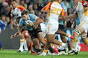 Cam Crawford on debut. Waratahs v Chiefs. 2013 Investec Super Rugby Season. Allianz Stadium, Sydney. Friday 19 April 2013. Photo: Clay Cross / photosport.co.nz