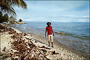 Burning Spear on the Beach at St Ann's Bay Jamaica 1978