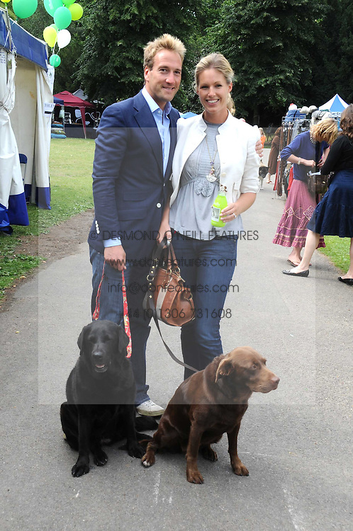 BEN & MARINA FOGLE and their dogs Inca and Maggie at the Macmillan Dog Day in aid of Macmillan Cancer Support held at the Royal Hospital Chelsea, London on 8th July 2008.<br /><br />NON EXCLUSIVE - WORLD RIGHTS