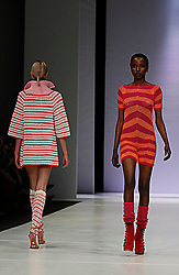 241018 2nd day of SA Fashion week took place as they were also celebrating their 21st birthday in Sandton Johannesburg South Africa.The theme on this particular show was BRICS.Designers from the BRICS member countries show cased on this day.Photo Simphiwe Mbokazi African News Agency/ANA y