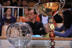 Cup at Women Slovenian Handball Cup, finals match between RK Olimpija and RK Krim Mercator, on April 5, 2009, in Arena Tivoli, Ljubljana, Slovenia.  (Photo by Vid Ponikvar / Sportida)