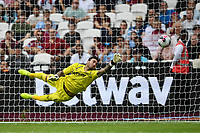 Football - 2019 Betway Cup (pre-season friendly) - West Ham vs. Athletic Bilbao<br /> <br /> West Ham United's Roberto narrowly fails to save a penalty in the shoot out, at The London Stadium.<br /> <br /> COLORSPORT/ASHLEY WESTERN